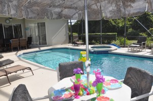 Vacation Home Photography - Disney Vacation Pool Home
